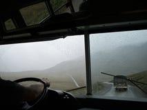 Bus de Denali Photographie stock libre de droits