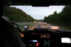 Bus de déplacement Image libre de droits