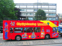 Bus de Londres Photos stock