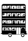 Bus de monstre illustration libre de droits