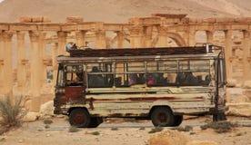 Bus de Moyen-Orient Photographie stock
