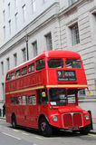 Bus de rouge de Londres Photographie stock