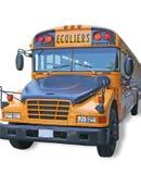 Bus de Scholl. Photo stock