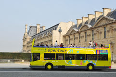 Bus de touristes Photos stock