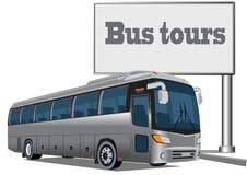 Bus de touristes Photographie stock libre de droits