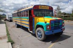 Bus del pollo di Esteli Fotografia Stock