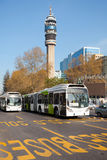 Bus del trasporto pubblico Immagini Stock Libere da Diritti