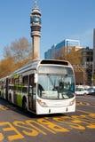 Bus del trasporto pubblico Fotografie Stock Libere da Diritti
