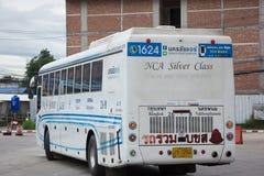 Bus dell'aria di Nakhonchai Itinerario Bangkok e Nakhonpanom Immagine Stock Libera da Diritti