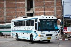 Bus dell'aria di Nakhonchai Itinerario Bangkok e Nakhonpanom Fotografie Stock