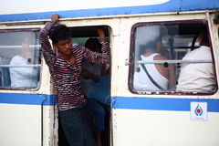 Bus della Birmania Immagini Stock