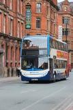 Bus della città della diligenza Fotografia Stock Libera da Diritti