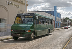 Bus della città a Merida, Yucatan Messico Fotografia Stock