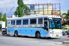 Bus della compagnia aerea di Nakhonchai nessun 18-117 Immagine Stock Libera da Diritti