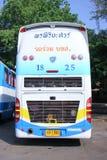 Bus della società di giro di Pornpiriya nessun 18-25 Fotografie Stock Libere da Diritti