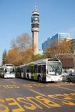 Bus des öffentlichen Transports Lizenzfreie Stockbilder