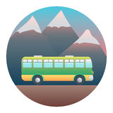 Bus Detailed Illustration Stock Photography