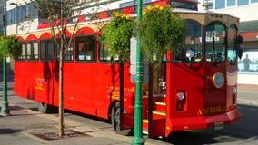 Bus di Anchorage fotografia stock