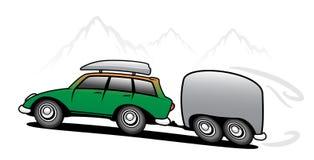 Bus di corsa royalty illustrazione gratis