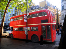 Bus di doppio ponte Fotografie Stock