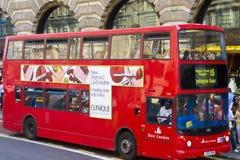 Bus di doppio ponte Fotografia Stock