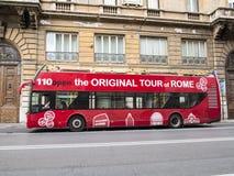 Bus di giro di Roma fotografie stock libere da diritti