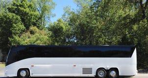 Bus di giro sull'itinerario scenico fotografie stock