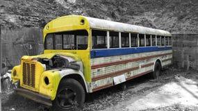Bus di hippy fotografia stock libera da diritti