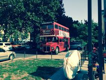 Bus di Lodon fotografie stock
