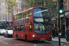 Bus 2018 di Londra immagine stock