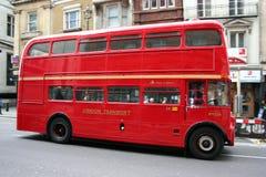 Bus di Londra Immagini Stock