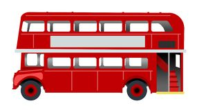 Bus di Londra royalty illustrazione gratis
