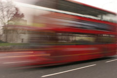 Bus di Londra quasi Immagini Stock Libere da Diritti