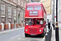 Bus di Londra, Regno Unito Immagini Stock