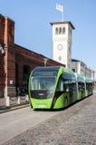 Bus di Malmo Expressen fotografie stock libere da diritti