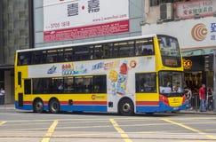 bus di navetta Due-leggendario fotografia stock libera da diritti