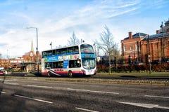 Bus di Norwich Fotografie Stock
