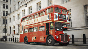 Bus di Routemaster Fotografia Stock Libera da Diritti