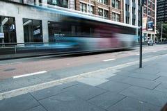 Bus di Sydeny Immagine Stock