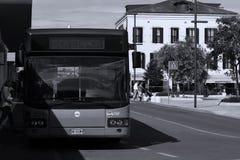 Bus in Di Venezia, Italia di lido immagini stock