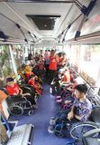 Bus for disabled people Stock Photography