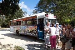 Bus dominicain photo stock