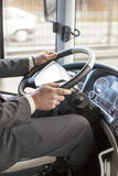 Bus driver royalty free stock images