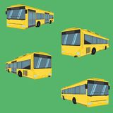 The bus driver fare passenger autobus omnibus coach rail bench chair stool armchair seat mattress bolster hassock pad vector. The bus driver fare passenger royalty free illustration