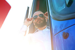 Bus driver Stock Images