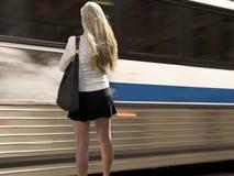 Bus-Durchlauf Lizenzfreie Stockfotos