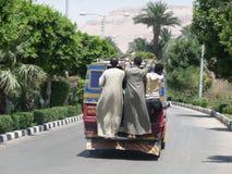 Bus egiziano Immagini Stock Libere da Diritti