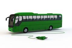 Bus elettrico Fotografia Stock Libera da Diritti