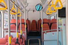 Bus elettrico in Tailandia Fotografia Stock Libera da Diritti