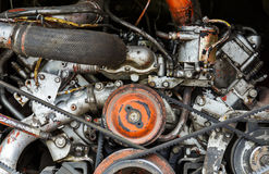 Bus engine Stock Photography